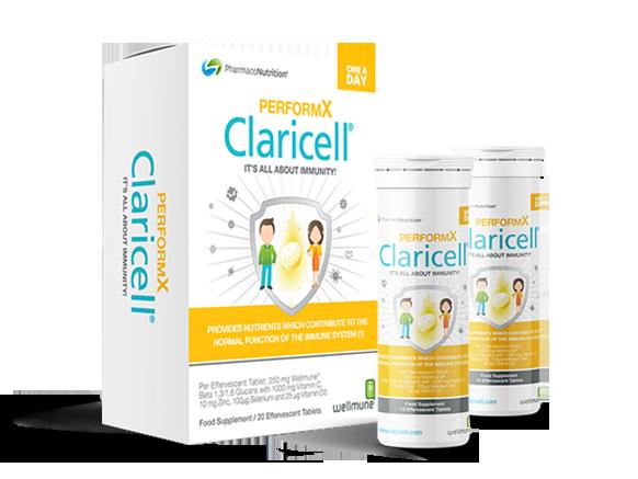 Claricell® PerformX kosttilskudd for mer energi