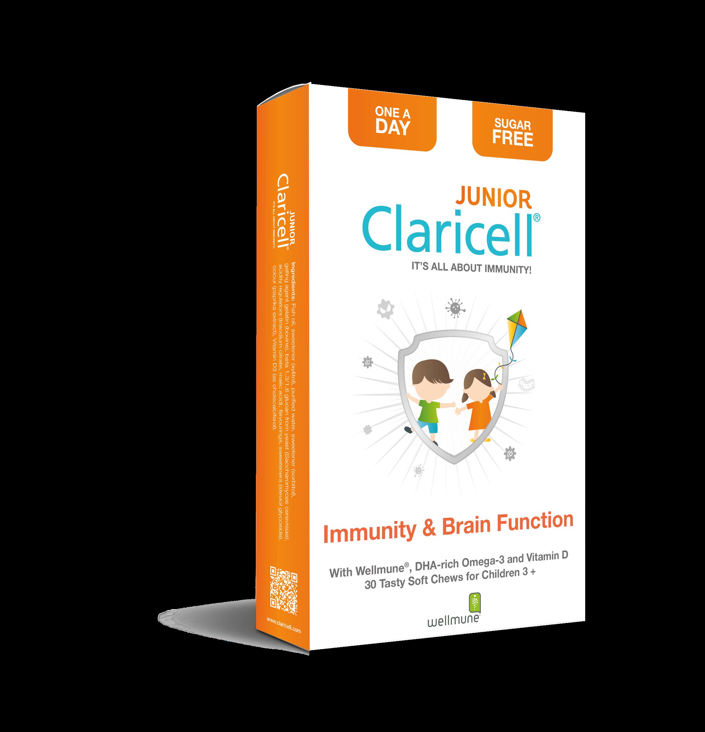 Kosttilskudd for barn - Claricell Junior